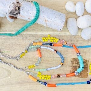 INC long beaded necklace